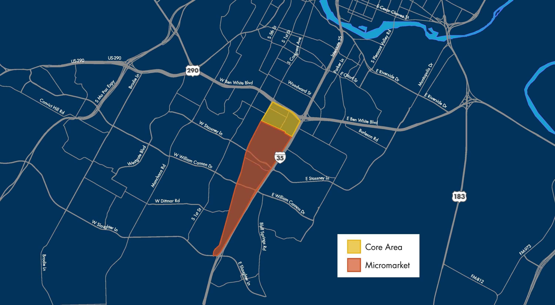 St. Elmo Area Map