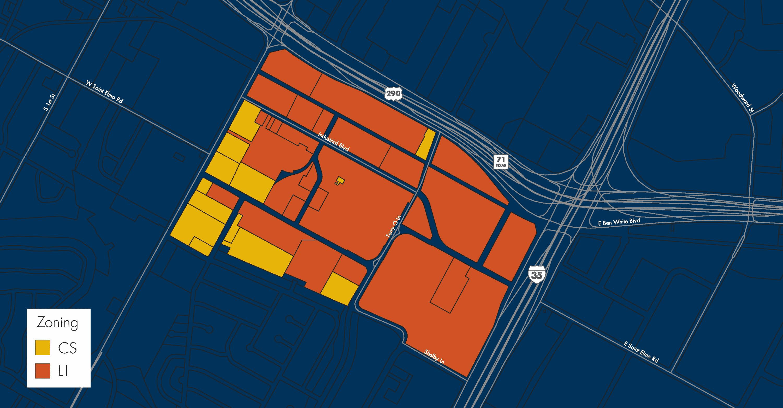 St. Elmo Zoning Map
