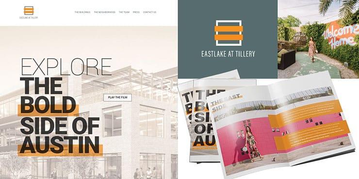 custom brand identity for property | eastlake at tillery