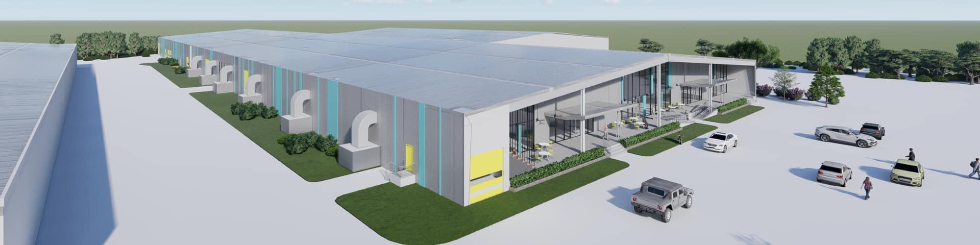 Schertz Corporate Center Rendering