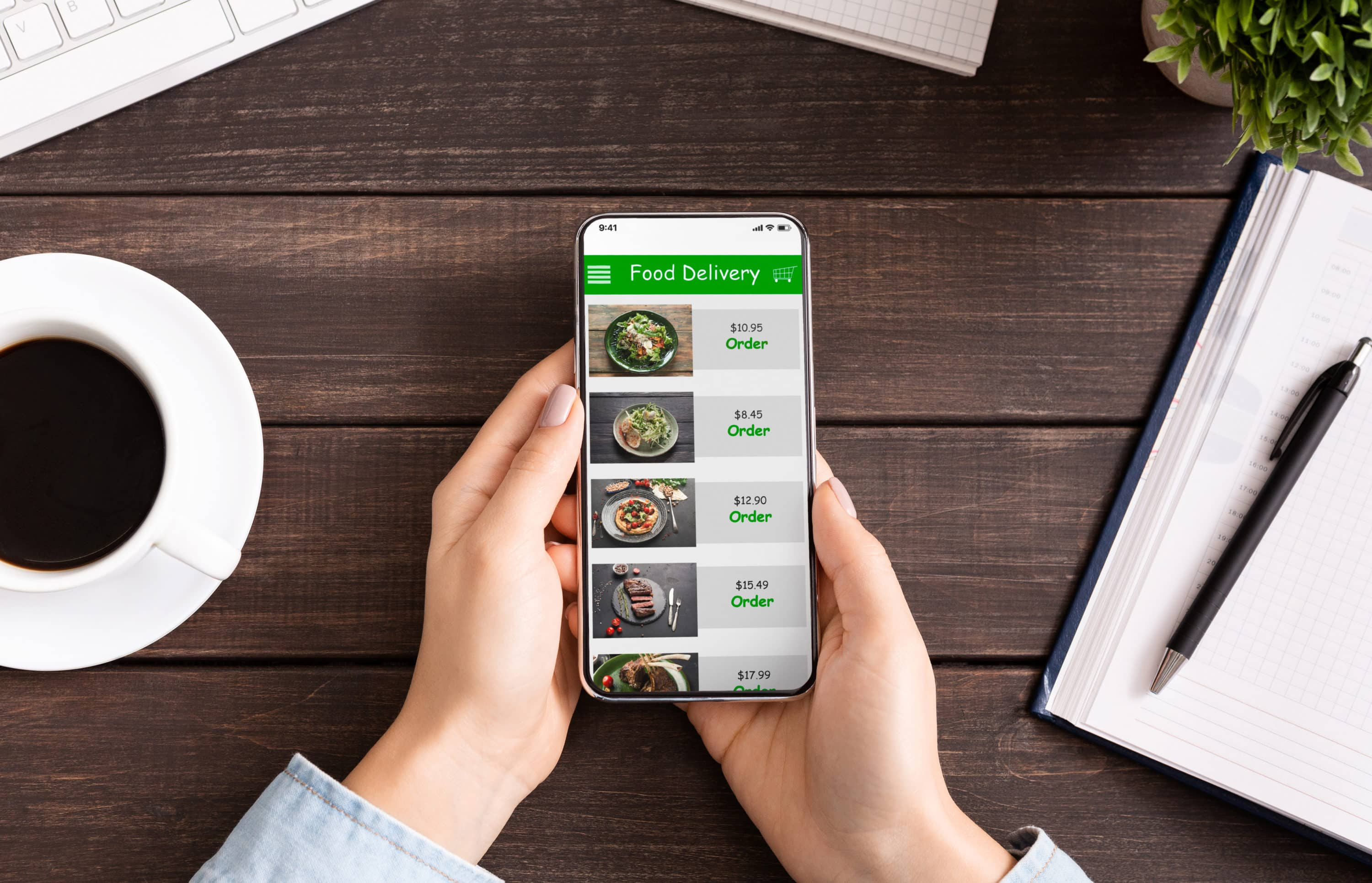 Food Delivery App | COVID-19 Office Trends