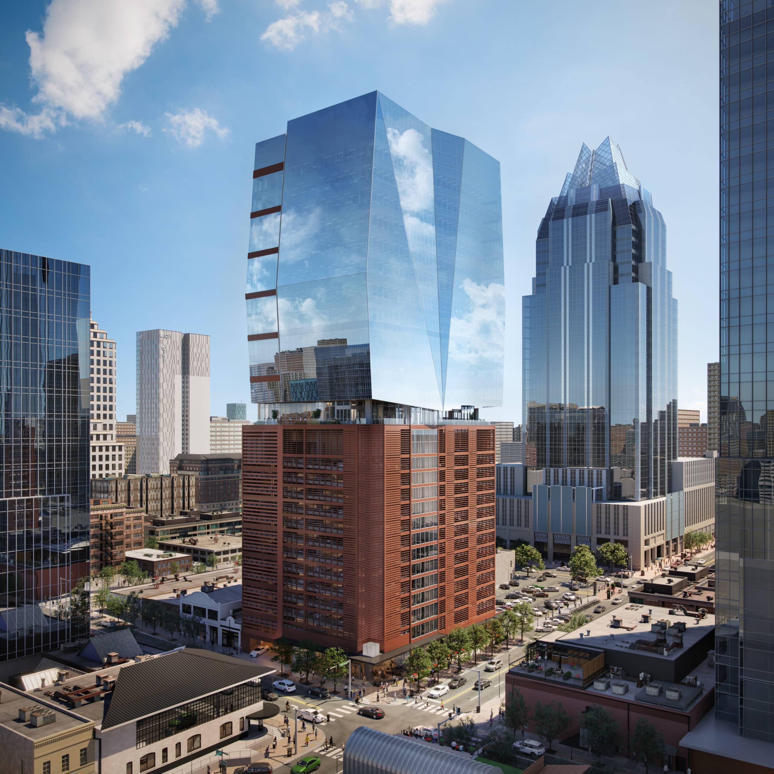 405 Colorado | Downtown Austin Buildings 2021