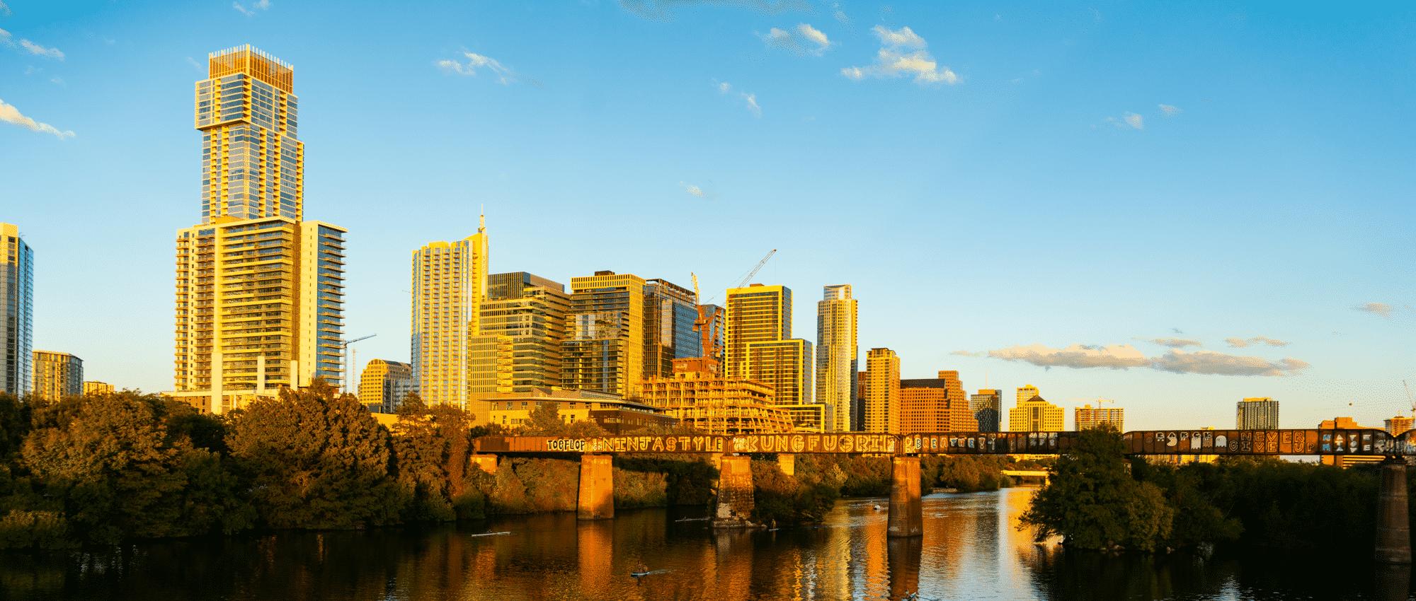 Austin Downtown Buildings 2021