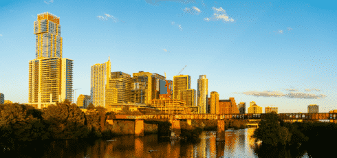 Austin Downtown Buildings 2021