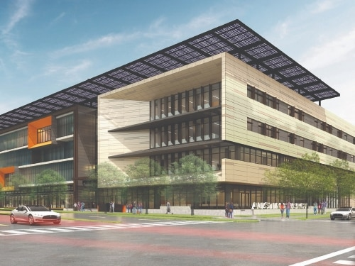 Austin Energy HQ | office projects central austin 2021