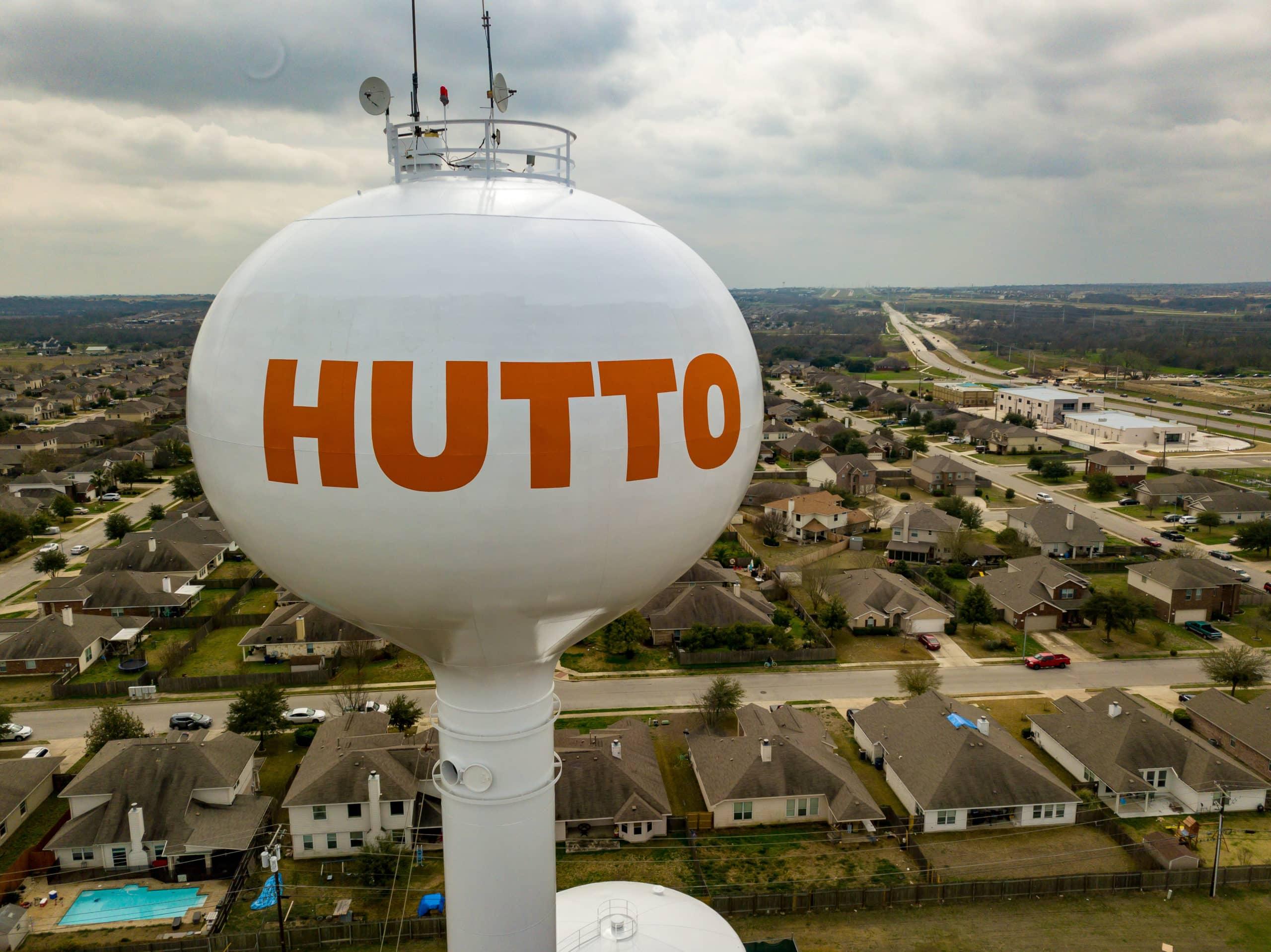 Hutto, Texas   Watertower