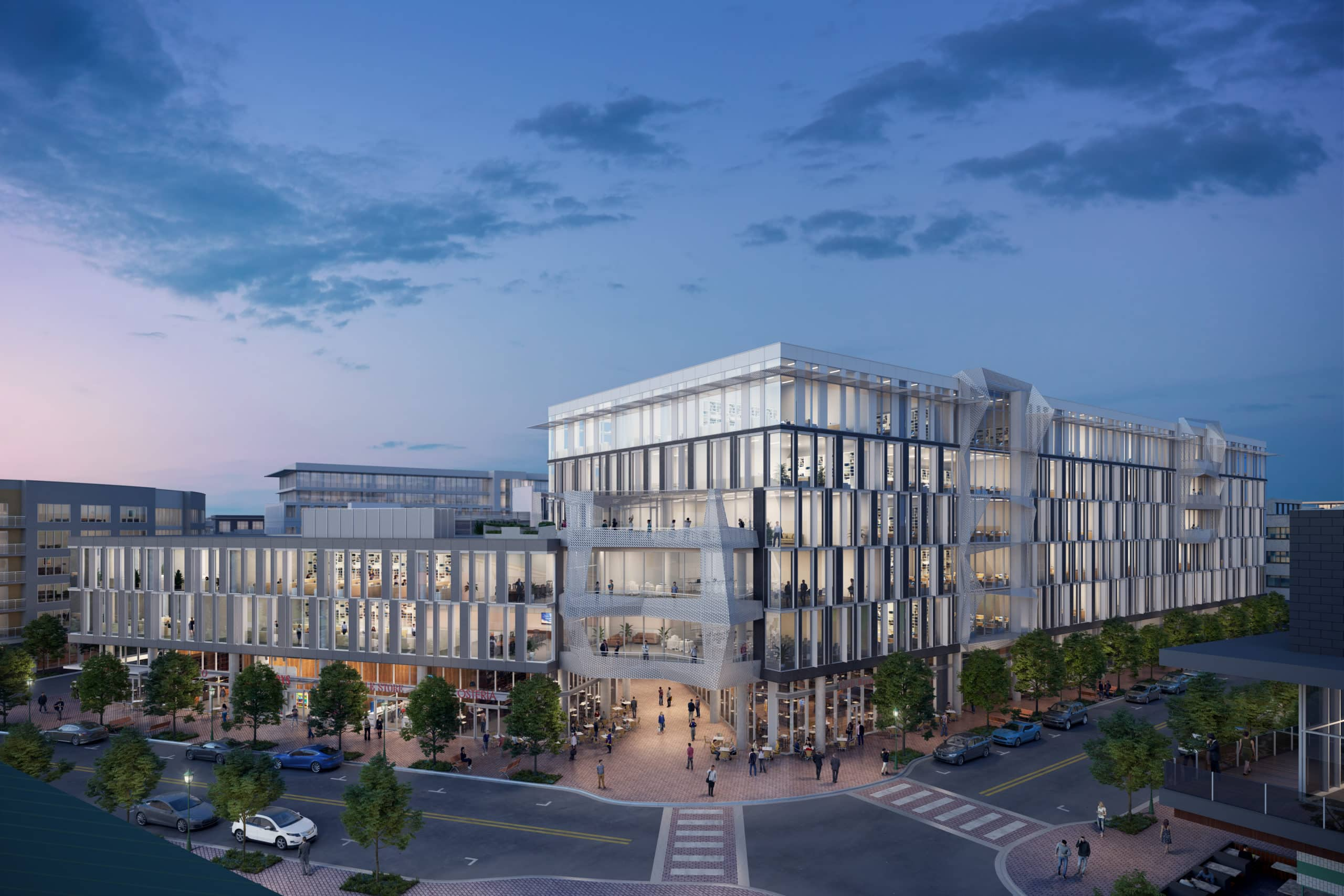 Mueller Business District | office projects central austin 2021