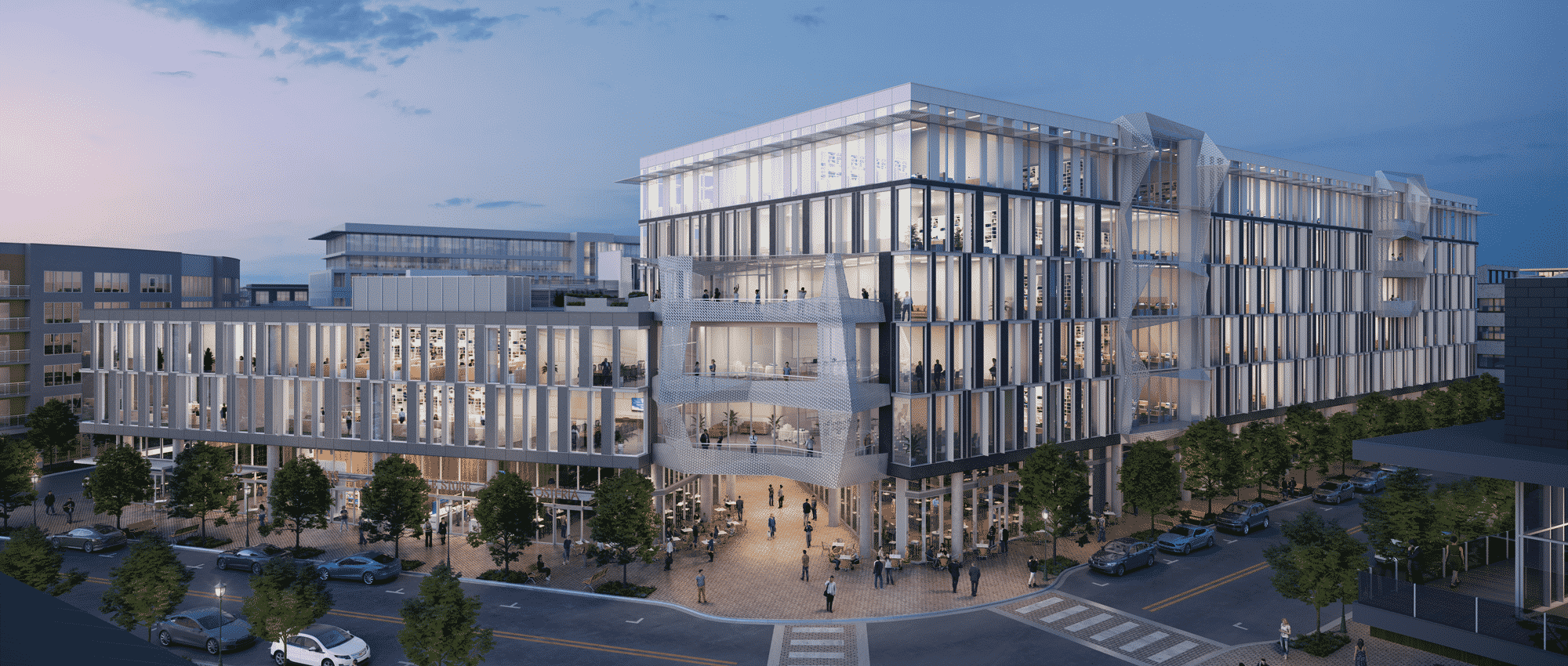 Mueller Business District | central austin buildings 2021