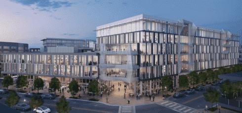 Mueller Business District   central austin buildings 2021