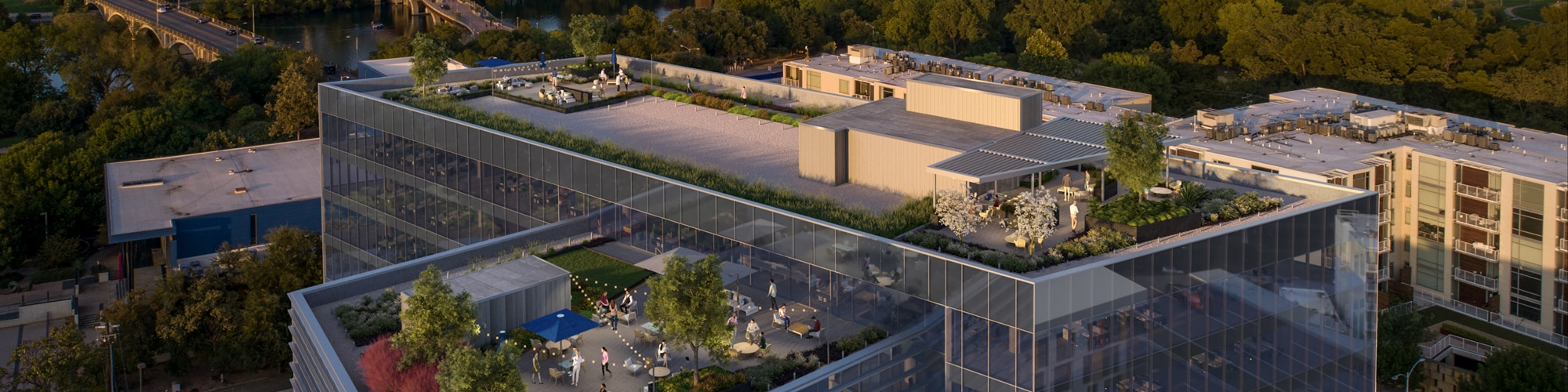 Zilker Point Rooftop With View Rendering