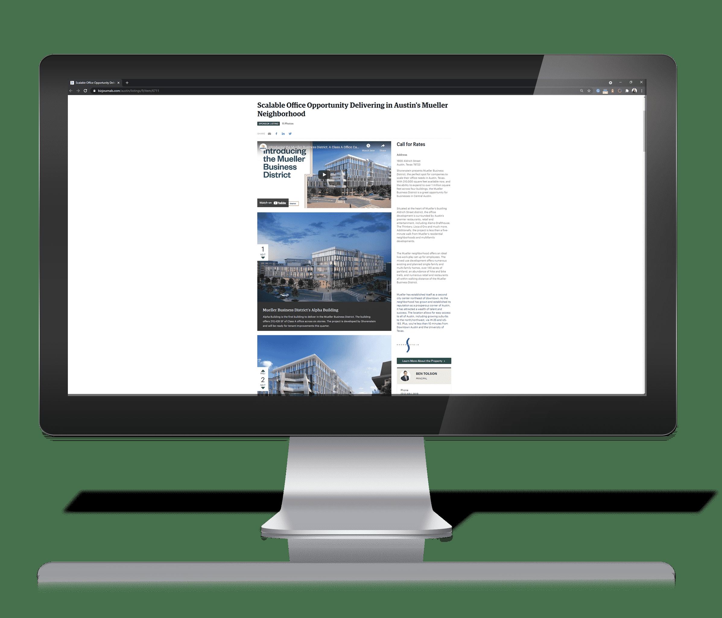 Digital Advertising for Commercial Real Estate