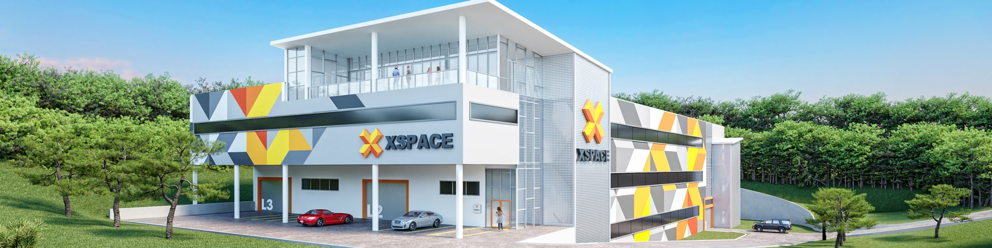 XSpace Commercial Condos Lake Travis